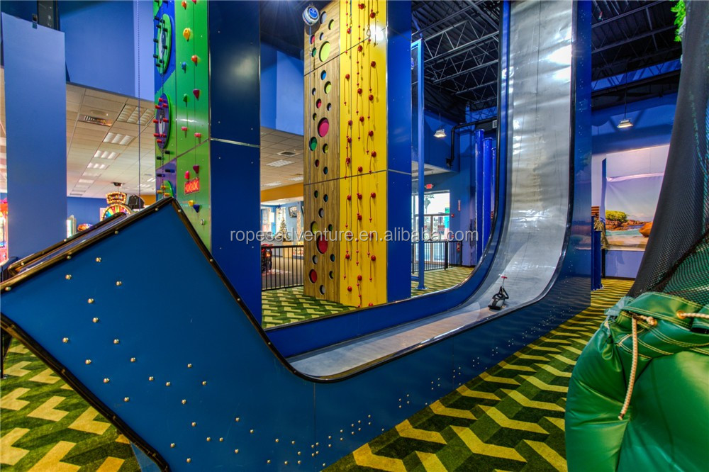 kids playground equipment fun slides  drop slide sliding wall