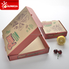 Take away cheap paper custom pizza box with logo