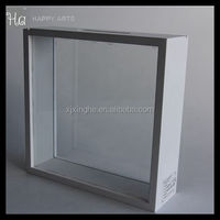 small shadow Money saving Box Frame with double glass