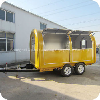 2014 Special Offers Outdoor Mobile Bistro Coffee Street Vending Cart Bar for Small Products XR-FC350 D
