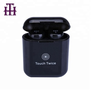 Newest Promotion Invisible Sport MP3 Music Stereo Ear Phone In Ear Touch X3T TWS Earphone True Wireless Bluetooth Earbuds