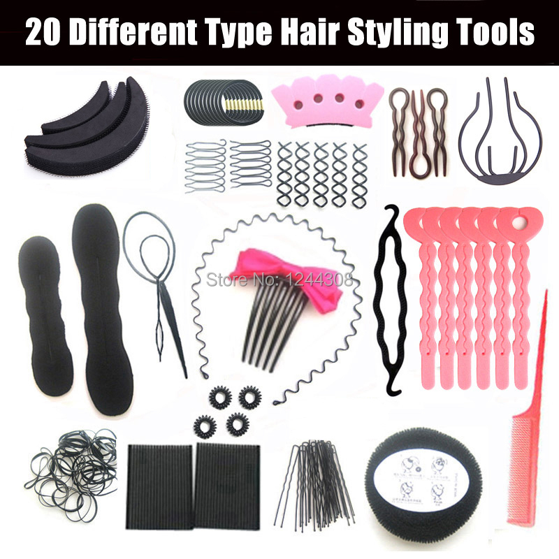 High Quality Women Hair Styling tools Set Hair Accessories ...
