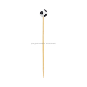 Hand-made Natural bamboo Soccer Ball Sport Skewer Sticks