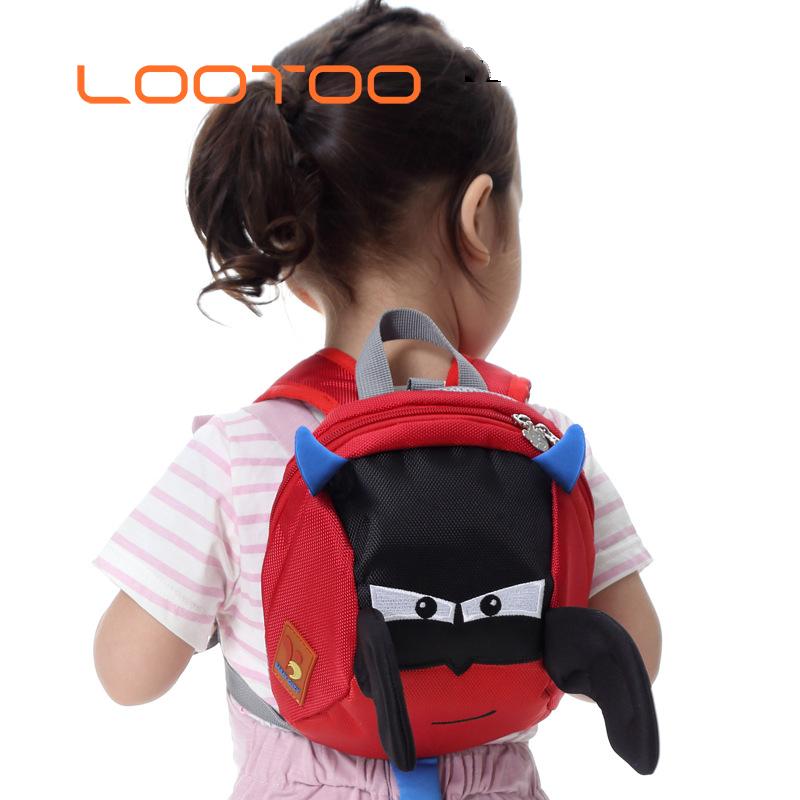2eae807757c Peuter bat rugzak anti-verloren wandelen veiligheid kind schooltas met leash  harness