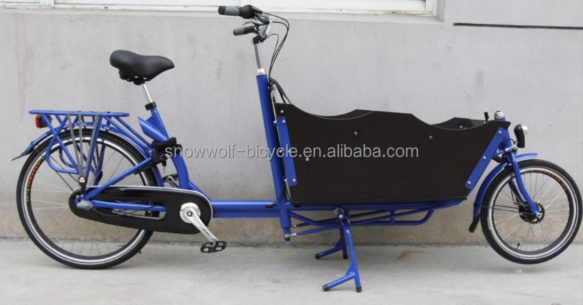 2015 Best Selling Two Wheel Electric Cargo Bike Cargo Bike China