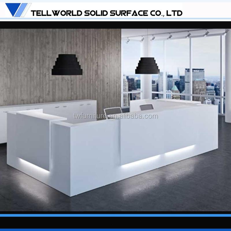 Dise o moderno mostrador de la oficina escritorio de for Oficina western union malaga