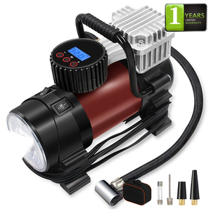 Electric Tire Inflators 12v DC car tyre mini 12V multifunctional portable aiCE heavy duty 160L DC12V air compressor pump for car