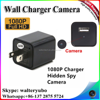 Factory Outlet Full HD 1080P Hidden Wall Charger Camera,Plug camera,adaptor camera buildin 8GB 16GB 32GB memory card
