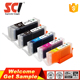 New edible ink cartridges 270xl 271xl compatible for Canon MG7720,MG6820,MG6821,MG6822,MG5720,MG5722,MG5721