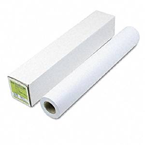 "HP : Designjet Large Format Paper for Inkjet Printers, 21lb, 24""w, 150`l, WE, Roll -:- Sold as 2 Packs of - 1 - / - Total of 2 Each"