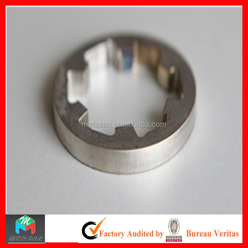 Factory direct laser cutting stainless steel gear metal processing