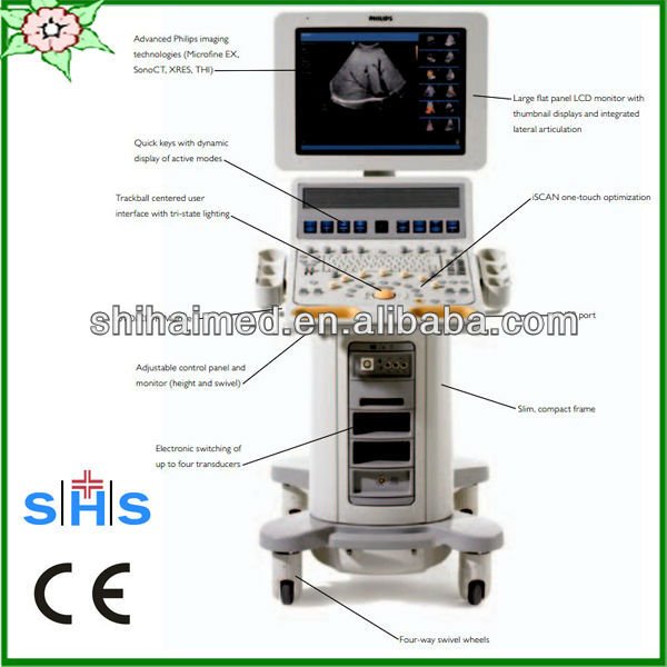 Hd15 2d Ultrasound Equipment