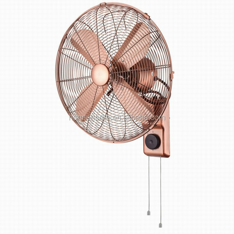 Vintage Wall Mounted Fans : Inch oriental classic design electric wall mounted fan