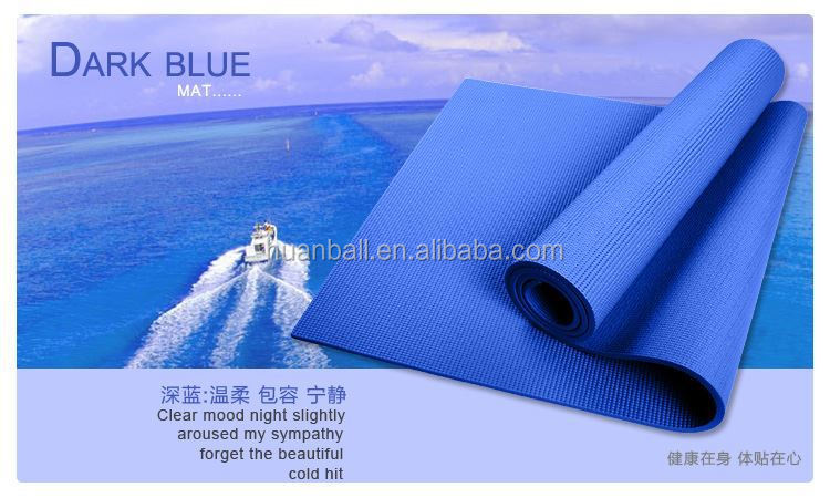 high quality pvc yoga mat