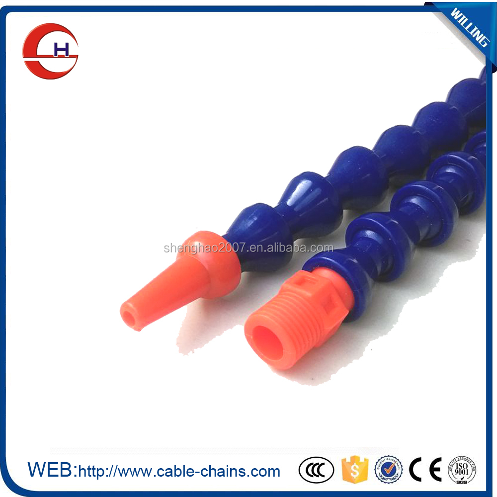 Plastic Flexible Water Oil Coolant Pipe Hose by Tina Hou
