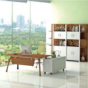 Ultra Modern Office Furniture Supplier Luxury Wooden Desk Ib2021