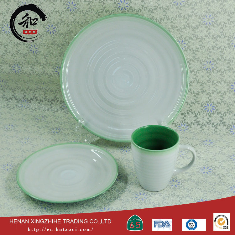 best selling vintage style dinner set made in China