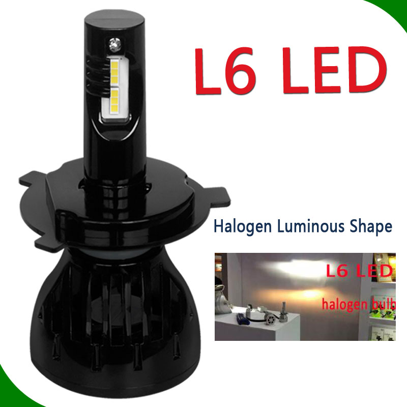 Head lights lamps led L5 L6 headlights replace xenon h7 led light headlight H1 H3 H4 H7 H11 HB3 HB4 D2S 9004 9007 auto parts