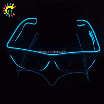 schön in der Farbe große Vielfalt Stile Original- Drei Funktionen El Wire Led-sonnenbrillen Leuchten Leuchtende Sonnenbrillen  - Buy Glow Gläser,Blinkende Led Sonnenbrille,El Draht Leuchtende Gläser ...