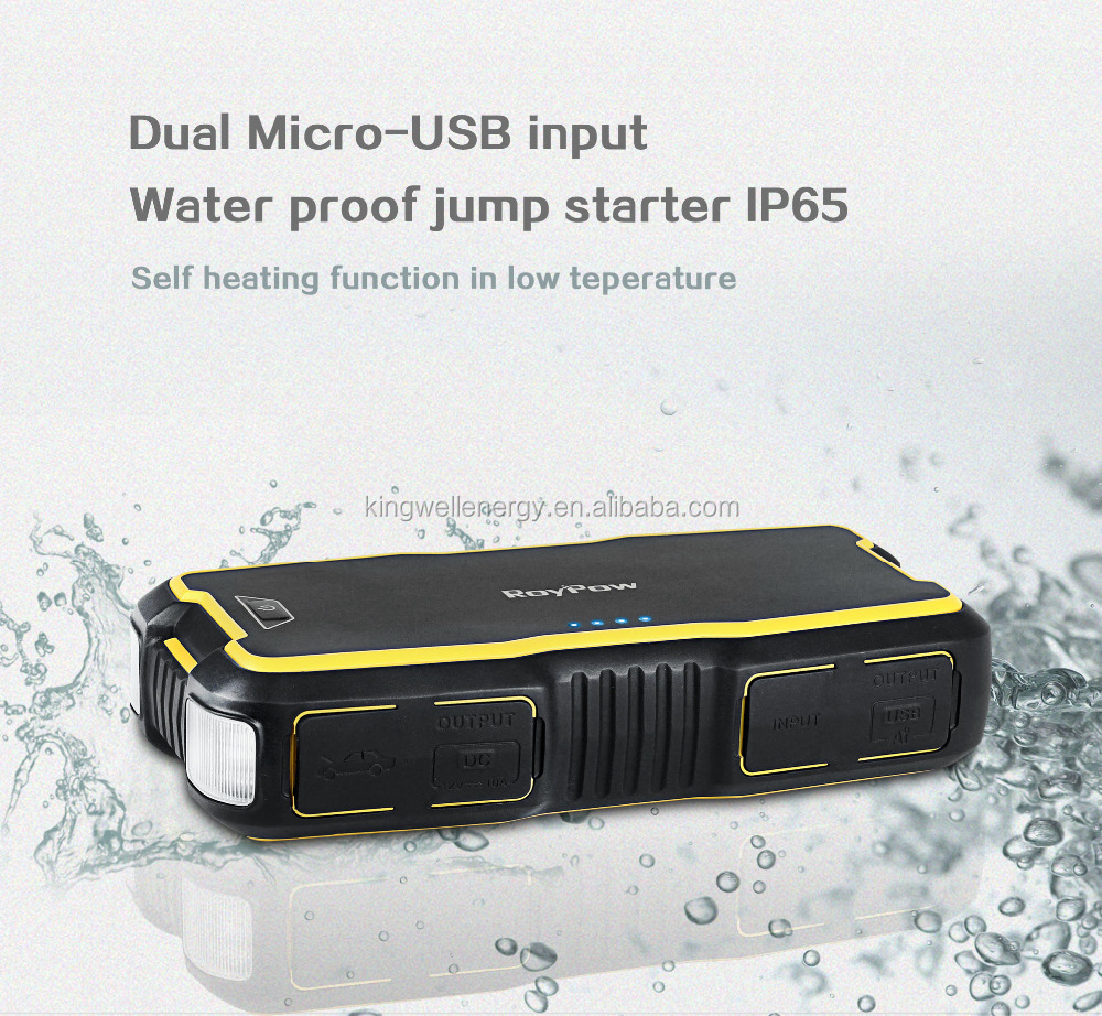18000 mAh Multi Function Jump Starter Power Bank and Car Jump Starter with Emergency Tools
