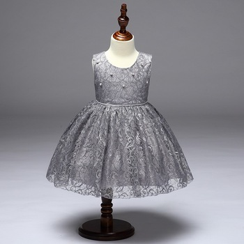 6eff8abef Latest Net Dress Designs Kids Casual Frocks Baby Girls Cute Pageant ...