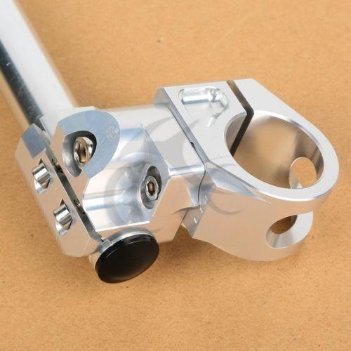 CNC Billet Handlebars Clip Ons For Honda CB 350 360 CL 350 Scrambler CX 500 33mm