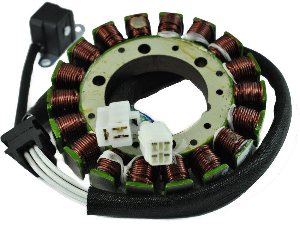 Generator Stator For Arctic Cat 500 TBX 500 TRV 500 2003-2009 Suzuki LT 500 Vinson 2002 2003 2004 2005 2006 2007 OEM Repl.# 32101-09F30 32101-09F40 3430-058