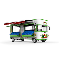 Vegetable environment type of food truck hot sale trailer using in USA food trailer festivals with stainless steel Factory made