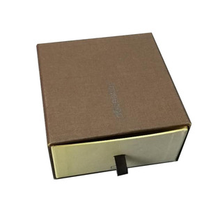 Luxury Custom Logo Printed Cardboard Drawer Type Large Capacity Structure Offset Printing Paper Gift Box