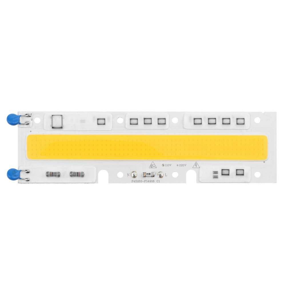 Awakingdemi High Power 100W AC110V COB LED Lamp Chip for Spotlight Searchlight(WW)