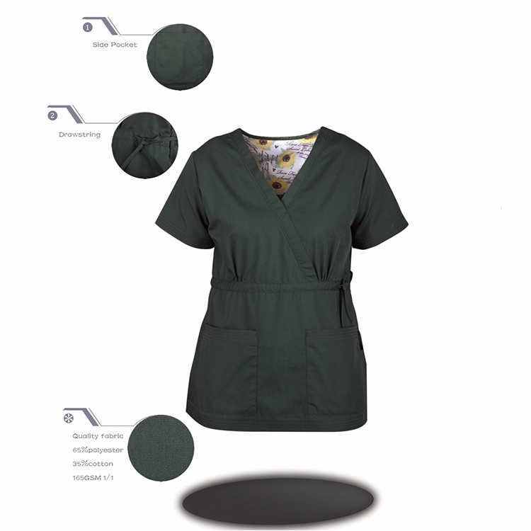 scrub-1029 Manufacture Widely Used Medical Scrub Uniform
