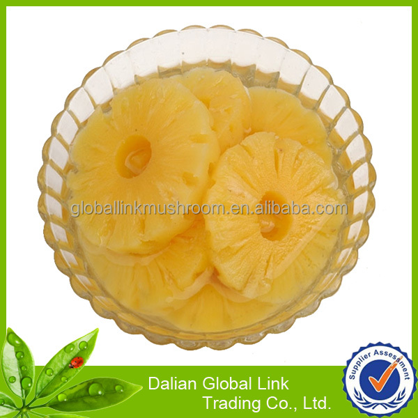 2014 new crop canned pineapple rings in 567g