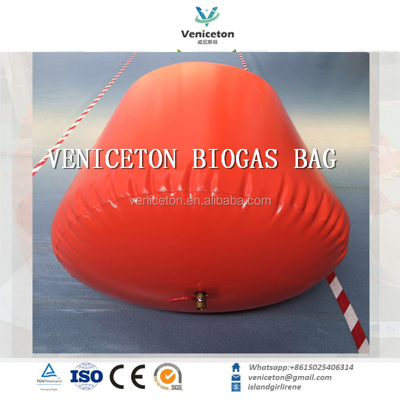 Veniceton China Supplier Best Price Soft Collapsible Biogas Plant Technology