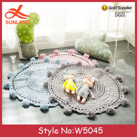 W5045 New Fashion Boho Style Blanket Throw Baby Blanket Pattern SUNSHINE pattern for crocheted blanket