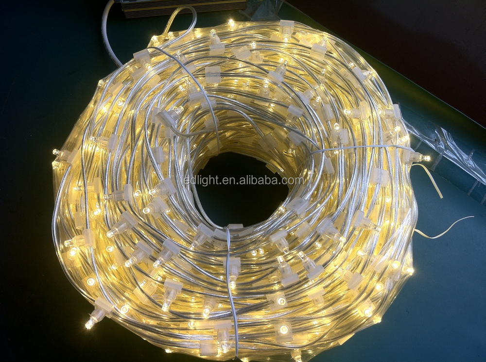 Outdoor Use 12v Low Voltage 100m White Christmas Led Clip Lights ...