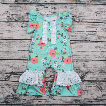 2018 Baby Clothes Boutique Cute Kids Clothing Romper