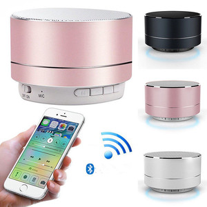 2019 New products bass speaker metal mini a10 portable wireless speaker outdoor