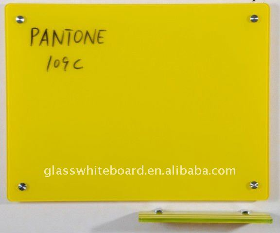 4mm Dry erase magnetic glass board