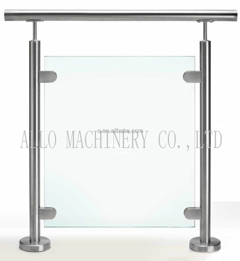 Glass fitting accessories glass holding clips stainless for Ss glass railing images