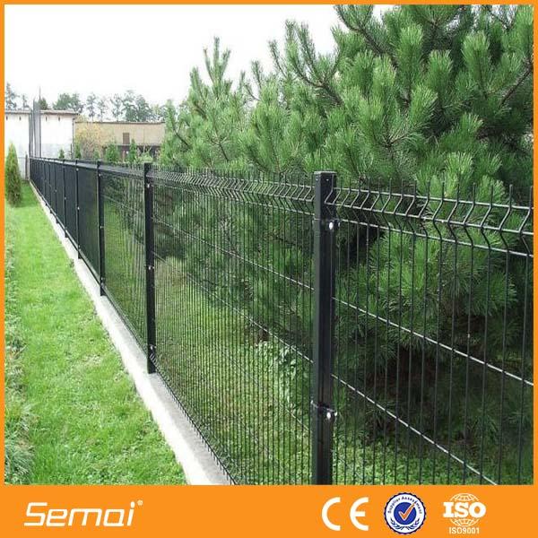 Anping f brica de pvc galvanizado valla de hierro cerca del jard n certificaci n panel malla - Vallas de pvc para jardin ...
