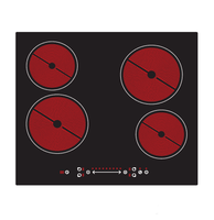 Electric built-in ceramic hob ceramic cooker spare parts
