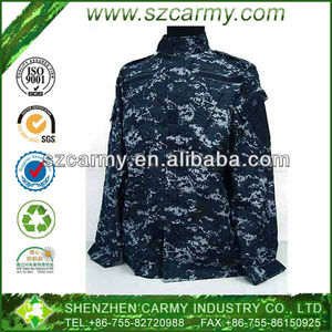 U.S. Navy Digital Camouflage Durable and Water Repellent Marine Uniform