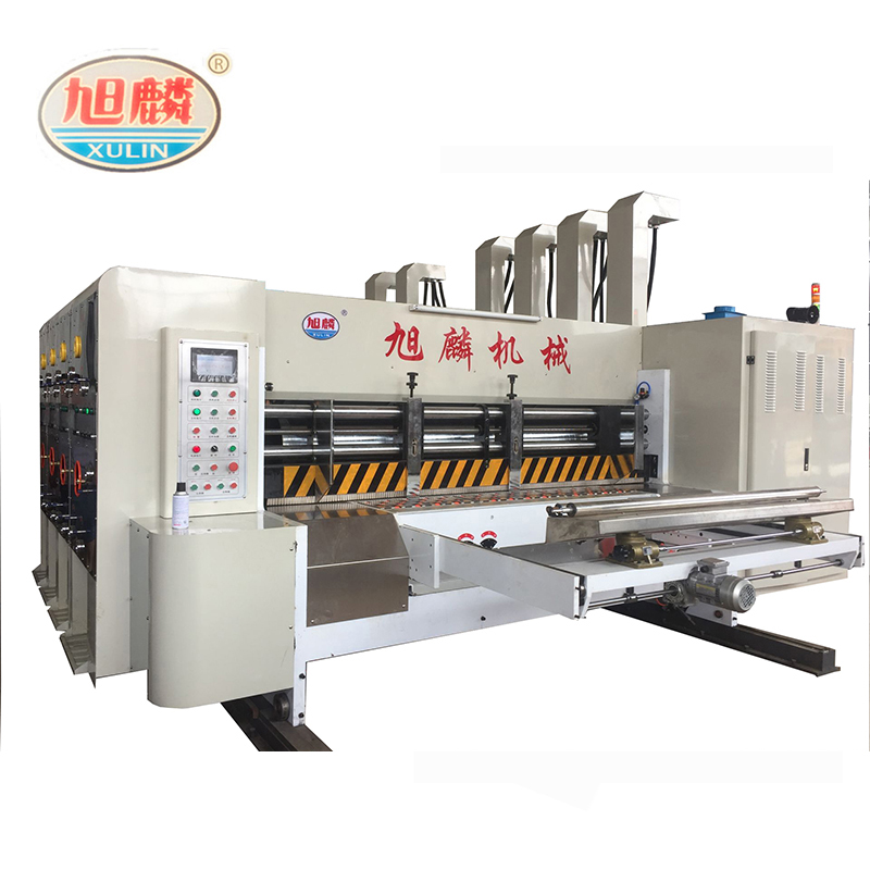 corrugated box printing machine/flexo printer slotter/rotary die cutter machine