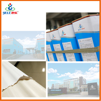 Two component adhesive glue for PVC film