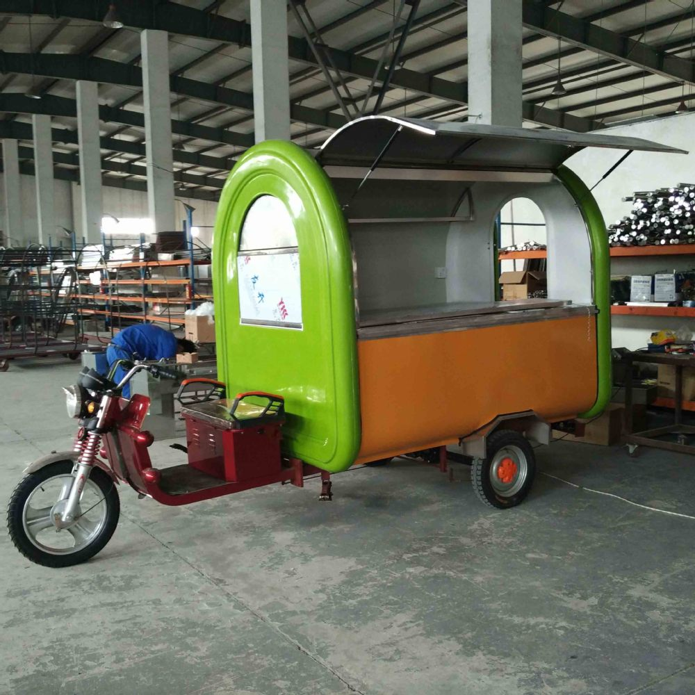 Food trailer concession minggu oem food truck coffee van - Remorque cuisine mobile ...
