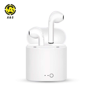 2018 Popular Headphone Twins Double Wireless Bluetooth Pair Earphones I7S TWS Earbuds
