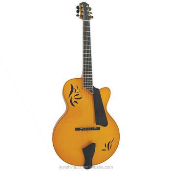 16inch Fully Handmade Solid Wood Archtop Acoustic Guitar