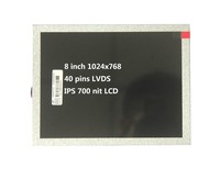 8 inch Square Screen 1024*768 tft IPS LCD panel