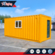 Living 20ft shipping container log house/prefab container woning