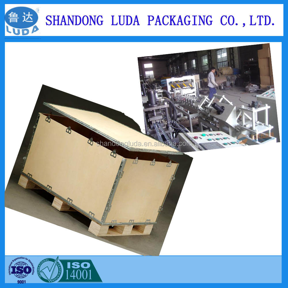 Luda Collapsible Plywood Packing box clients demand